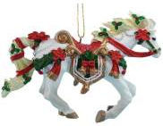 Horse of a Different Color 20653 Christmas Carousel Ornament