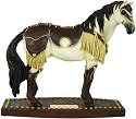 Horse of a Different Color 20318 Western Leather Figurine