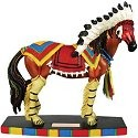 Horse of a Different Color 20320 Pawnee Warrior Figurine