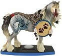 Horse of a Different Color 20332 Wolf Spirit Figurine