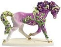 Horse of a Different Color 20338 Lavender Morning Glory Figurine