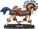 Horse of a Different Color 20360 Wardance Figurine