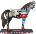 Horse of a Different Color 20375 Wolf Princess Figurine