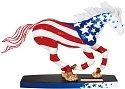 Horse of a Different Color 20376 American Glory Figurine