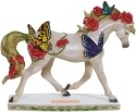 Horse of a Different Color 20383 Butterfly Garden Figurine