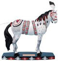 Horse of a Different Color 20385 Cree Spirit Warrior Figurine