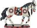 Horse of a Different Color 20481 Raven Tail Large Figurine