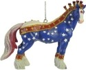 Horse of a Different Color 20515 Revolutionary Warhorse Ornament