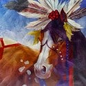Horse of a Different Color 20548 Dancer Wall Art