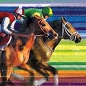 Horse of a Different Color 20559 Winning Streak Wall Art