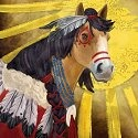 Horse of a Different Color 20563 Comanche Wall Art