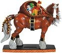 Horse of a Different Color 20606 Santa Horse Figurine
