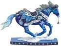 Horse of a Different Color 20608 Winter Snowflakes Figurine