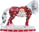 Horse of a Different Color 20610 Santa Claus Figurine
