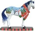 Horse of a Different Color 20617 Snowman Figurine