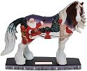 Horse of a Different Color 20620 Santa Cardinals Figurine