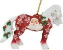 Horse of a Different Color 20640 Santa Claus Ornament