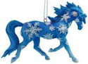 Horse of a Different Color 20655 Snowflakes Ornament