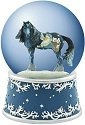 Horse of a Different Color 20661 Woodland Santa 100mm Wg