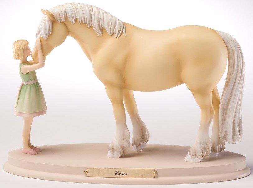 Horse Whispers 4028504 Kisses Figurine