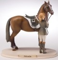 Horse Whispers 4028507 Price and Joy Figurine