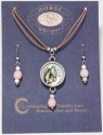 Horse Whispers 4036466 Love Earring 17in Necklace Set