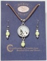 Horse Whispers 4036467 Cherish Earring 17in Necklace Set