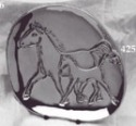 Hoselton 425 Horse and Colt Dish