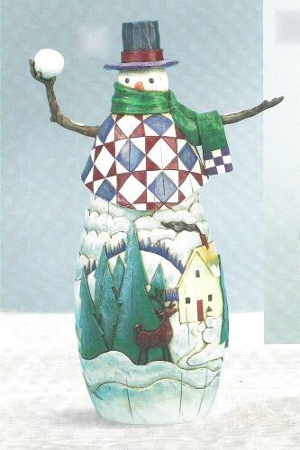 Jim Shore 112251 Winter's Mischief Figurine