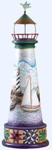 Jim Shore 114444 Lg Lighthouse