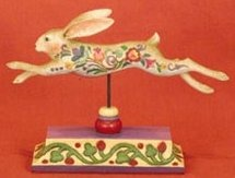 Jim Shore 118837 Rabbit