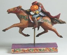 Jim Shore 4002857 The Headless Rider Follows