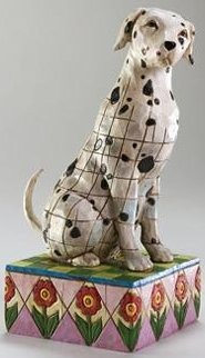 Jim Shore 4004850 Dalmatian Figurine