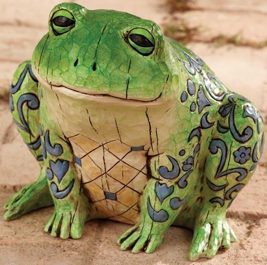 Jim Shore 4005175 Frog Statue