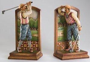 Jim Shore 4005228 Golf 2 Pc Set