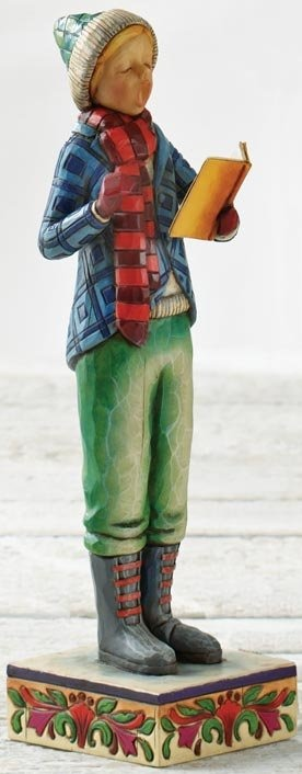 Jim Shore 4005297 Love and Joy Come To You Figurine