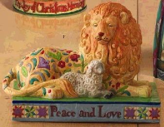 Jim Shore 4005324 Peace and Love Figurine