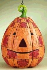 Jim Shore 4005333 Pumpkin Birdhouse Birdhouse