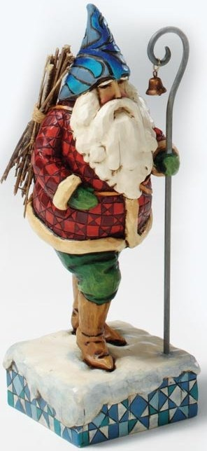 Jim Shore 4005448 Christmas Traveler Figurine