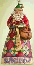 Jim Shore 4005789 Naughty or Nice Ornament