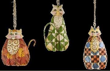 Jim Shore 4006318 Cats Ornament
