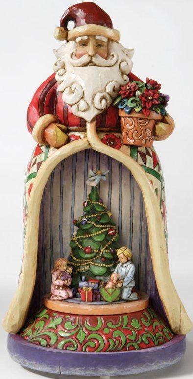 Jim Shore 4006647 Santa & Kids Musical