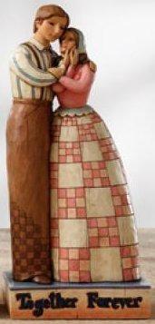 Jim Shore 4007236 Together Forever Figurine