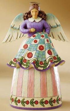 Jim Shore 4007245 Stitched Love Figurine