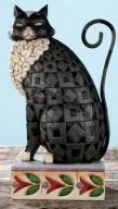 Jim Shore 4007498 Lucky Black Cat Figurine