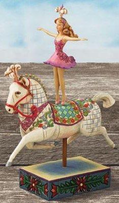 Jim Shore 4007671 Bareback Ballerina Figurine
