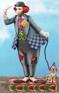 Jim Shore 4007674 Clown's Best Friend