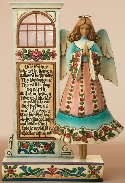 Jim Shore 4007759 The Lord's Prayer Figurine