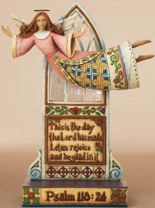 Jim Shore 4007762 Rejoice In Today Figurine