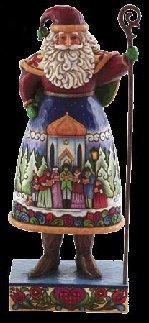 Jim Shore 4007924 Santa Carolers Scene Figurine
